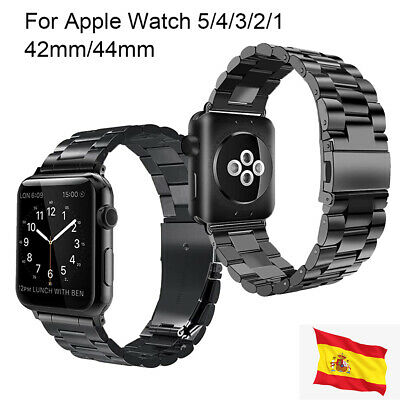 Correa para Apple Watch 42mm/44mm iWatch 5/4/3/2/1/ Correa de Acero inoxidable