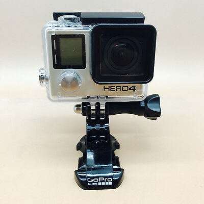 GoPro HERO4 Silver with LCD Screen - Open Box in Great Condition