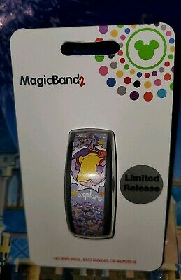 NEW Disney Parks 2019 Figment Light Purple Limited Release Magic Band 2 LINKABLE
