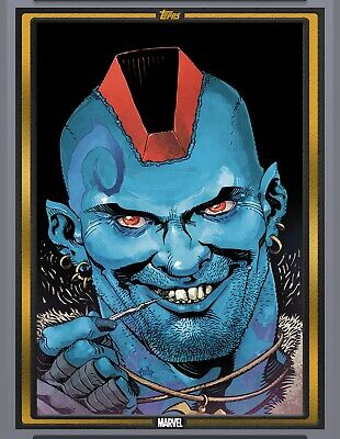 Topps Marvel Collect Yondu #1 GOLD Comic Book Day Nov 6 2019 [DIGITAL CARD]