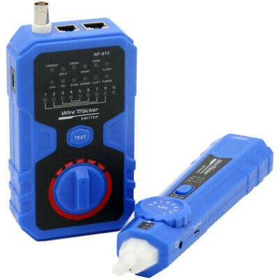 Doss Cable Tracer With AC Filter 3.7V lithium battry 1400 mah 2 Tones Adjustable