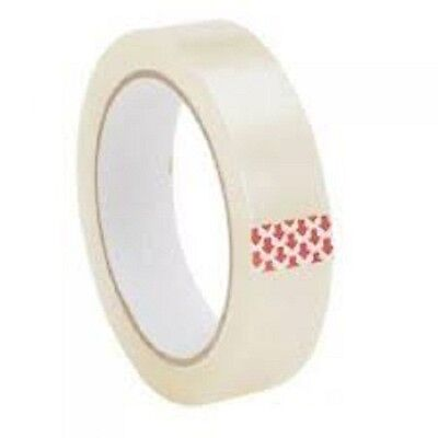 """NEW 12X ROLLS 1"""" Cellotape Sellotape of size 24mm X 66M"""