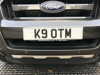 private number plates K9 OTM Dog Related