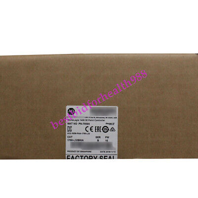 New AB Allen-Bradley MicroLogix 1400 32 Point Controller 1766-L32BWA【USA】