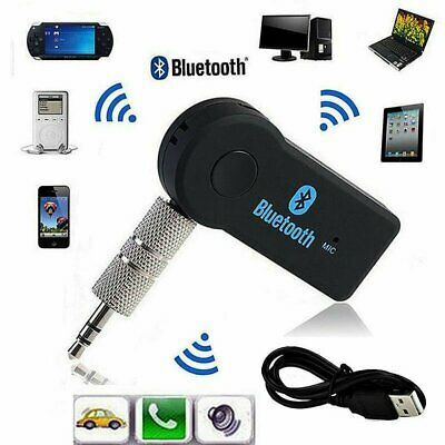 Mini 3.5mm Wireless USB Bluetooth Aux Stereo Audio Music Car Adapter Receiver