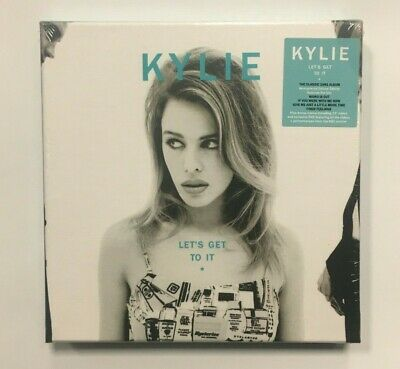 Kylie Minogue – Lets Get To It PWL Cherry Red 2CD DVD Ultra Rare Box Set Sealed