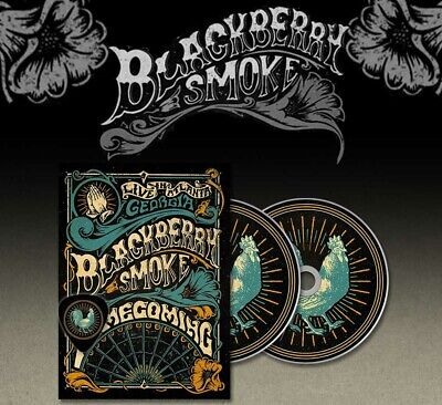 Blackberry Smoke 'Homecoming (Live In Atlanta)' 2 DVD - NEW (Out Dec 6)