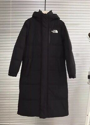 NWT the North Face Isolation ladies mens Unisex Goose Down long Coat hoody