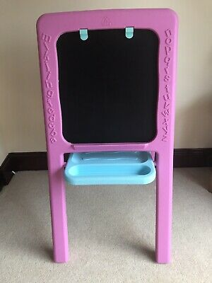 Early Learning Centre (ELC) Double Sided Easel/Blackboard In Pink - Excel Condit