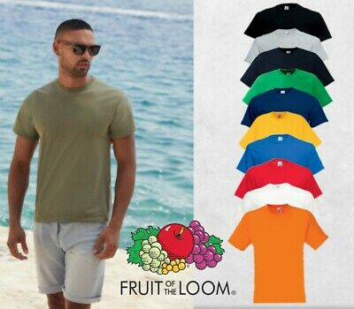 Fruit Of The Loom T-Shirt Classic S M L Xl Xxl Xxxl 3Xl 4Xl 5Xl Neu
