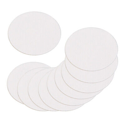 10 Pcs Double Sided Adhesive Wall Mounted White Suction Cup Auxiliary Stickers