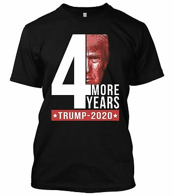 4 More Years Donald Trump 2020 MAGA Election New Men's Shirt President Political