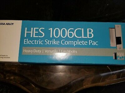 Hes 1006 Clb Electric Strike Nib Complete Pack