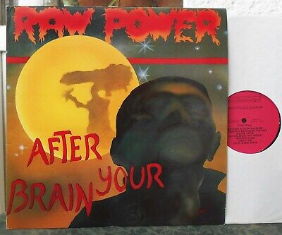 RAW POWER - After Your Brain  LP with Insert