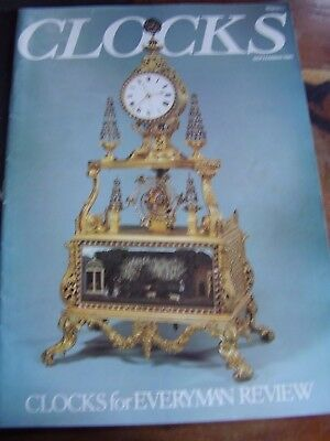 Clocks Horological Magazine - September 1981 French Decorated Watch Dials