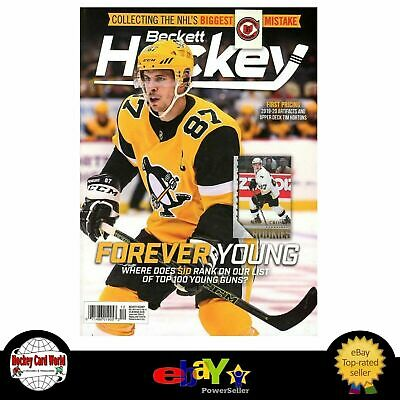 (HCW) December 2019 Beckett Hockey Monthly Magazine - Sidney Crosby Cover