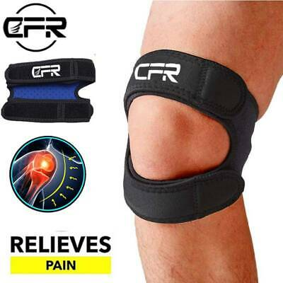 Adjustable Knee Support Brace Running Strap Open Patella Injury Pain Relief CFR