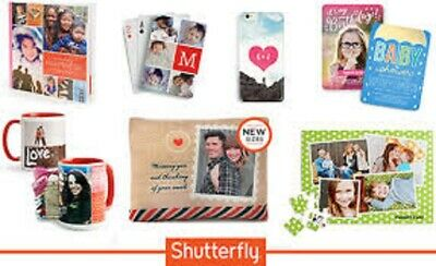 Two (2) Shutterfly $25 off $25 or 50% off order - CCDD