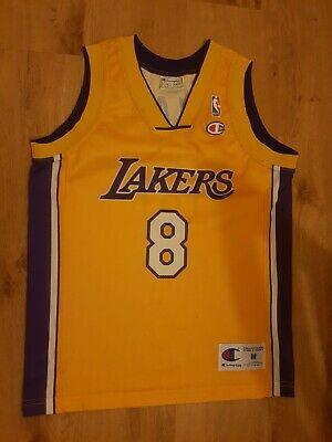 Champion Los Angeles Lakers Kobe Bryant NBA jersey in size M youths