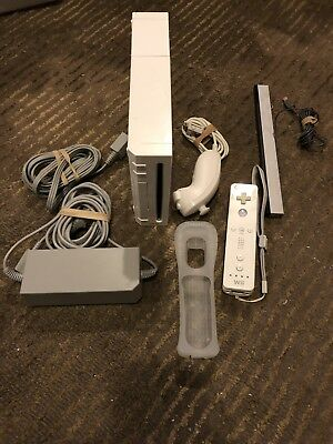Complete Nintendo Wii White Console Bundle Ready To Play Guaranteed Working