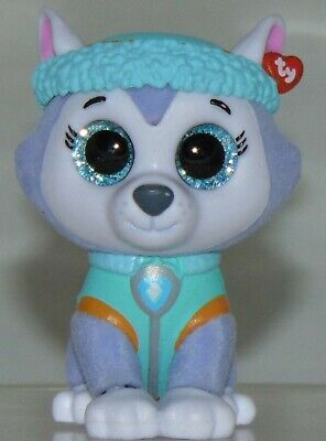2018 TY Beanie Boos Mini Boo Hand Painted Paw Patrol Figure CHASE 2 inch