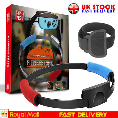 Ring Fit Adventure Nintendo Switch Fitness Healthy Exercise with Leg Strap UK