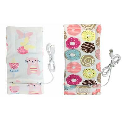 USB Baby Bottle Warmer Portable Outdoor Infant Milk Feeding Insulated Bag