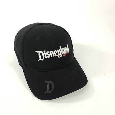 Disney Parks Disneyland Resort 1955 Baseball Hat Black Soft Monogram Stretch