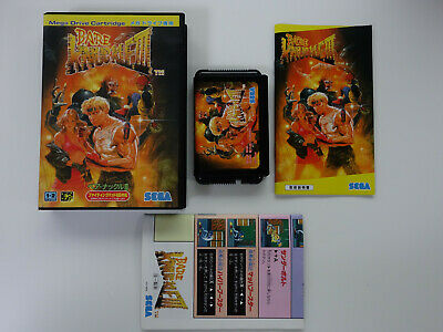 BARE KNUCKLE III Street Of Rage 3 Sega Megadrive MD JAPAN