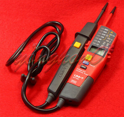 Date Holding LCD Digital Voltage and Continuity Tester Backlight UNI-T UT18C