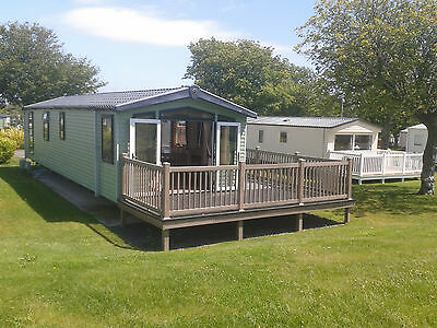 Haven holidays static caravan for hire at Hafan y mor