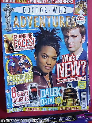 Doctor Who Adventures #12 New Crew New Monsters Dalek Data