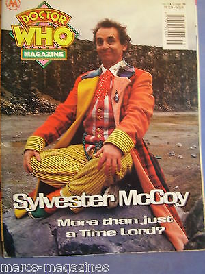 Doctor Who Magazine August 1994 # 216 Sylvester Mccoy Lunar Strangers