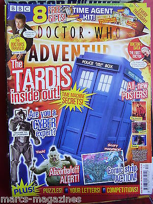 Doctor Who Adventures #56 20 - 26 March 2008 The Tardis Inside Out Abzorbaloff