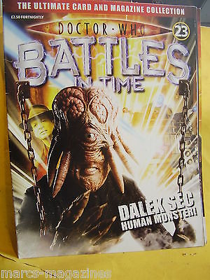 Doctor Who Battles In Time # 23 Dalek Sec Human Monster