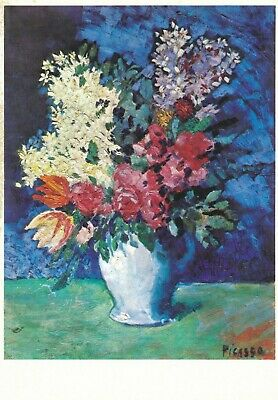 """PICASSO PABLO 1901 ART PRINT POSTER 14/"""" x 11/"""" 4156 FLOWERS"""
