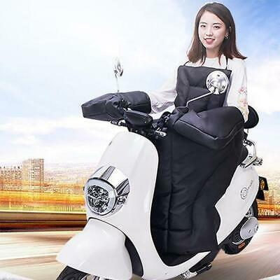 Motorbike Scooter Apron Wind Rain Protector Winter Leg Warmer Knee Blanket Cover