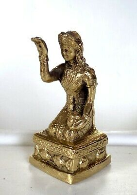 Thai Amulet Statue Nang Kwak Fetish Goddess of Wealth Charm success Good Trade