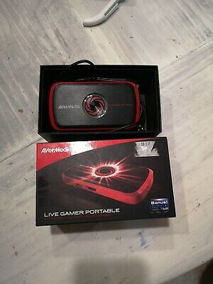 Capturadora de video - AverMedia Live Gamer Portable C875, HDMI, Portátil