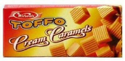 Wilson's - Toffo - Cream Caramel Toffee - 64g Boxes