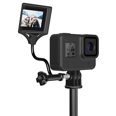 RE-FLEXI Dreampick, Gopro back screen mirror, flip screen, selfie vlog mount