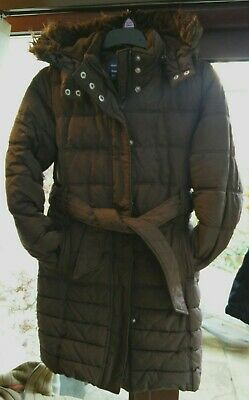 Girls Gap Thick Winter Puffa Coat Size L Which is Aged 12 Years VGC
