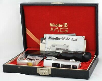 Minolta-16 MG Outfit in Presentation Case