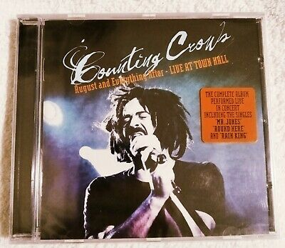 Counting Crows - August and Everything after - Live At Town Hall, cd