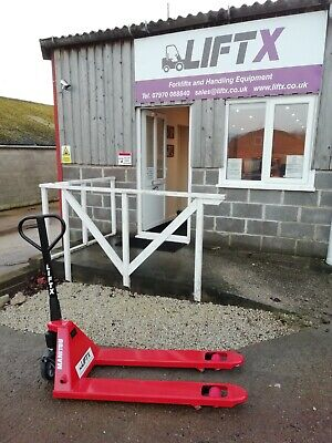 Manitou 2500kgs capacity hand pallet truck - New - Unused