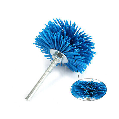 80mm 120Grit Nylon Abrasive Wire Polishing Brush Wheel Polishing Rotary Tool
