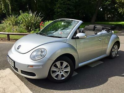 58 - 2008 Volkswagen Beetle 1.6 Luna Convertible Cabriolet ** FACE-LIFT MODEL **