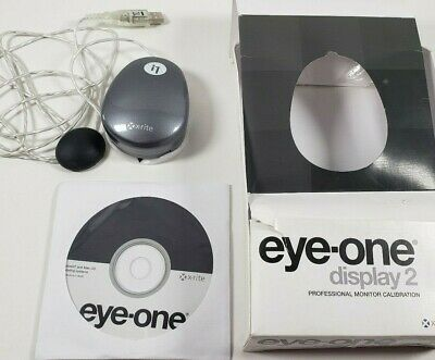 Eye One Display 2 Professional Monitor Calibration Correction x-rite PC/MAC PPC