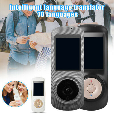 Business Smart Instant Voice Translator 70 Languages 2.4 Inch Screen