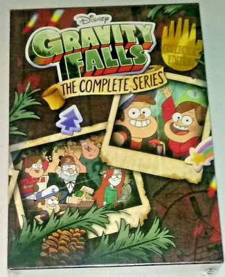 Gravity Falls: The Complete Series Collector's Edition (2018 DVD 7-Disc Box Set)
